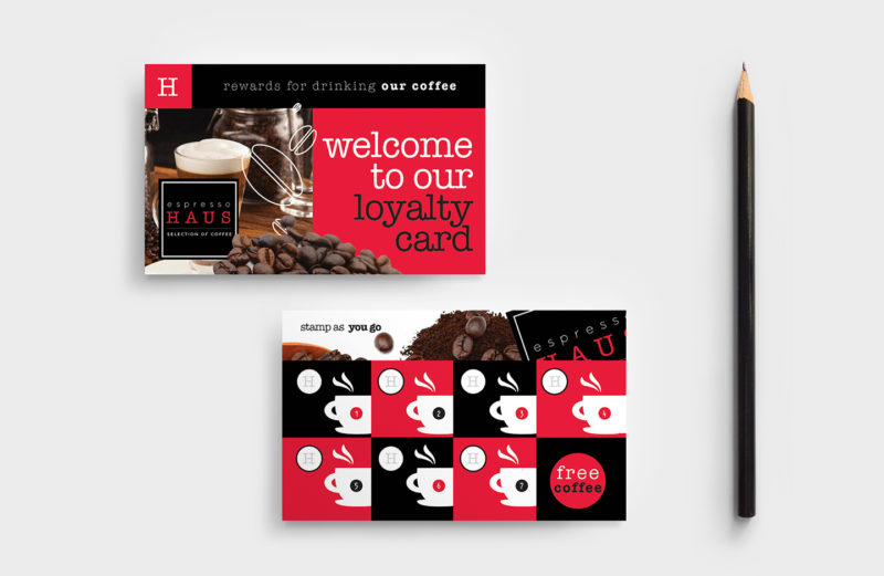 Coffee Loyalty Cards
